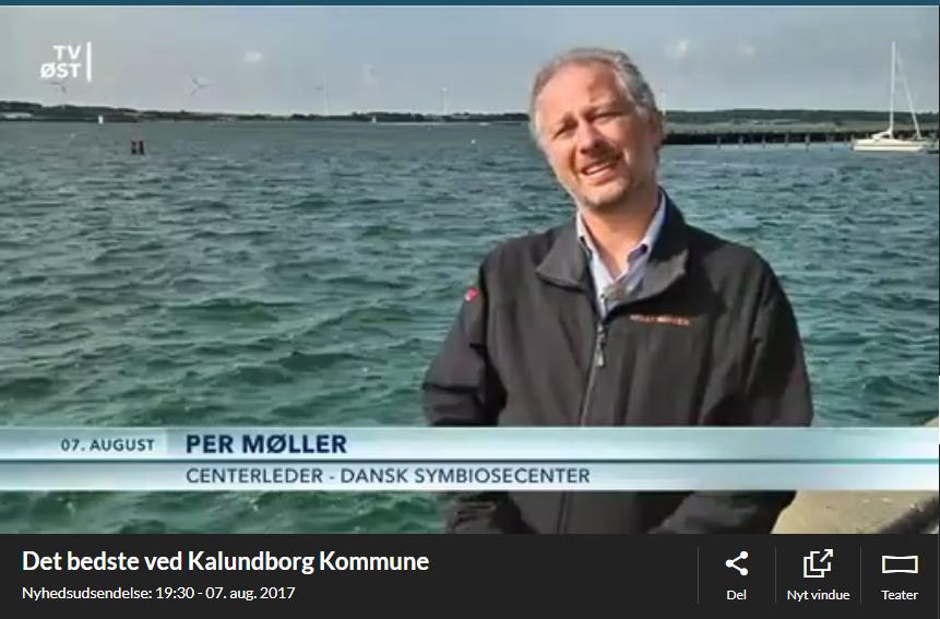 Indslag om Kalundborg Symbiosen i TV Øst