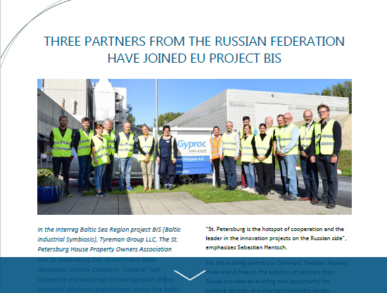 New article about our Russian partners in project BIS