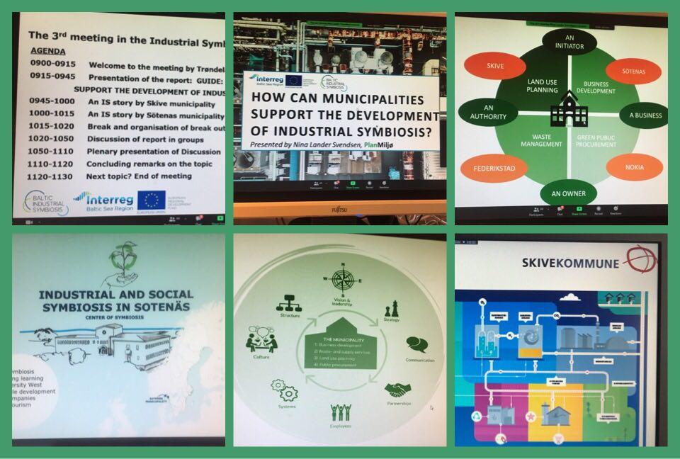 Municipalities' role in development of Industrial Symbiosis