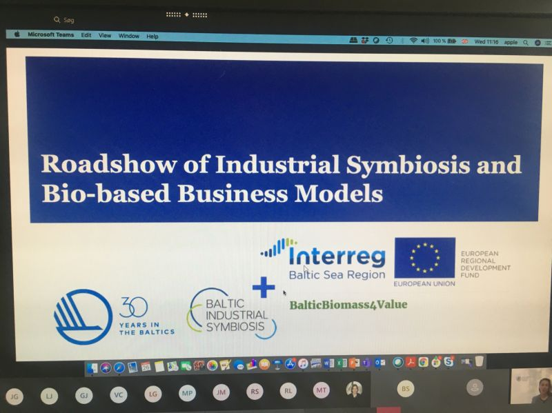 Roadshow of Industrial Symbiosis and Bio-based Business Models